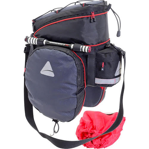 Axiom Seymour Oceanweave EXP19+ Expandable Trunk Bag: Gray/Black