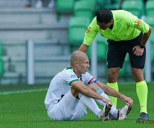Fans steken pechvogel Arjen Robben een hart onder de riem