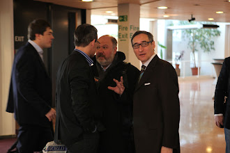 Photo: Arrival of Sergey Zverev and CROS PR&PA team, Alexander Anisimov is meeting them