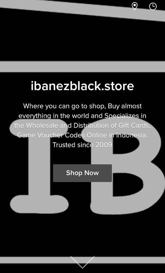 ibanezblack.store- screenshot