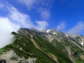 五龍岳を仰ぐ