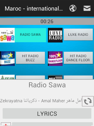 Radio Maroc - international