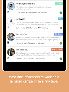 Rep - Influencer Marketing- screenshot thumbnail