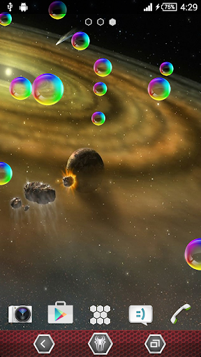 Solar System HD Live Wallpaper
