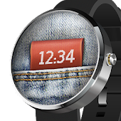 Watch Face Denim