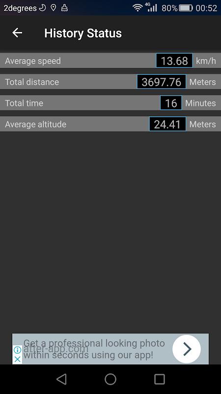 Mini GPS tracker screenshots