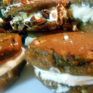 Pumpkin Spice and Everything Nice Cookie Sandwiches