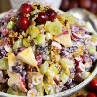 Cranberry Waldorf Salad.