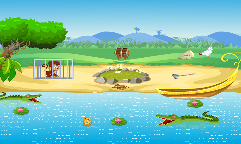 android Jolly Boy Tiki Escape Screenshot 1