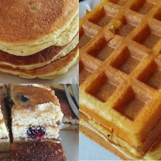 Fluffy Keto Pancake/Waffle.