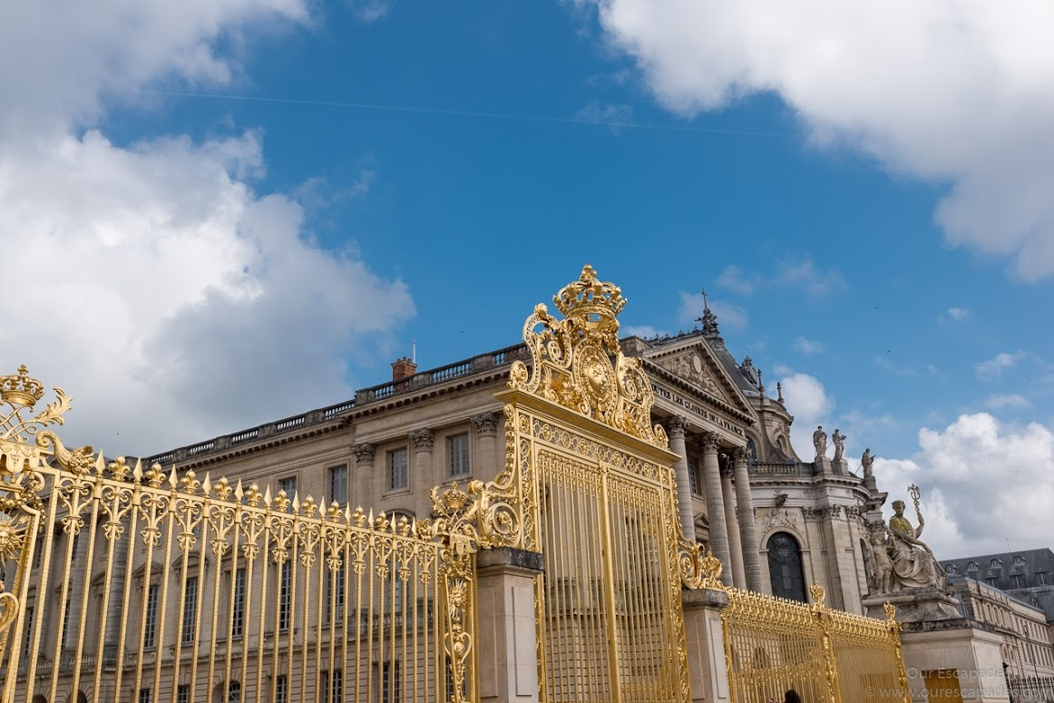 The lavish residence of King Louis XIV