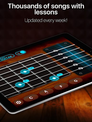Guitar - play music games, pro tabs and chords! 1.12.00 screenshots 7