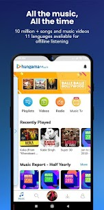 Hungama Music – Stream & Download MP3 Songs (MOD ,Pro) v5.2.22 1