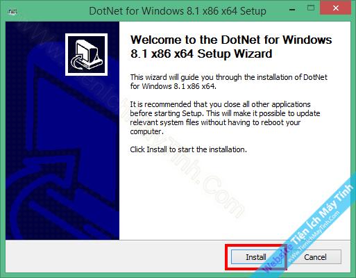 Install .NET Framework 3.5 Offline For Windows 8 / 8.1 / 10
