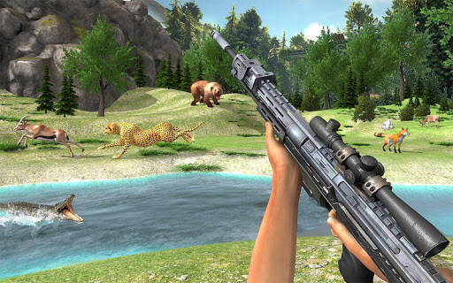 Real Jungle Animals Hunting - Best Shooting Game apkpoly screenshots 3