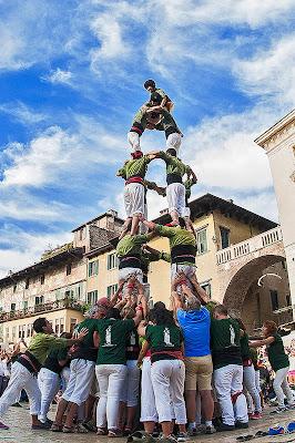 La torre umana di Scaletta