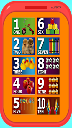 Phone for Toddlers - Alphabet, Numbers, Animals 1.0 screenshots 4