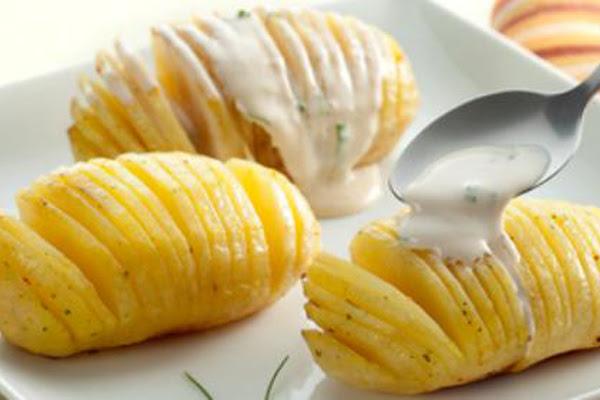 Batatas em Lâminas
