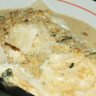 Bbq Chicken and Goat Cheese Ravioli