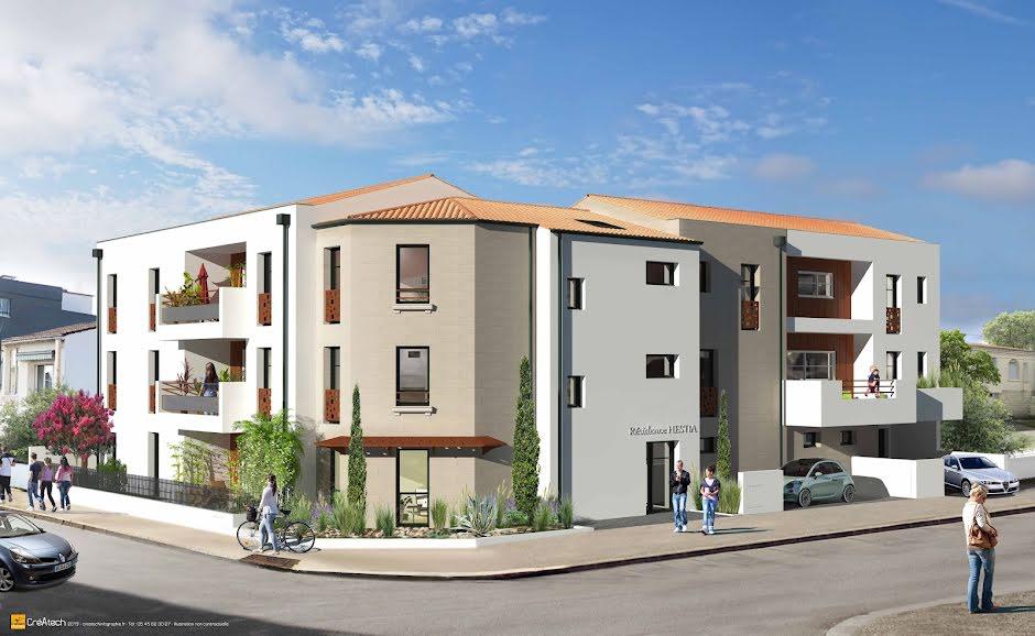Hestia : 9 appartements du T2 au T4 à La Rochelle - Porte Royale