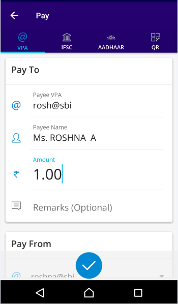 SBI Pay- screenshot