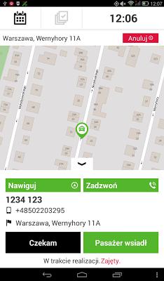 iTaxi.pl Kierowca - screenshot