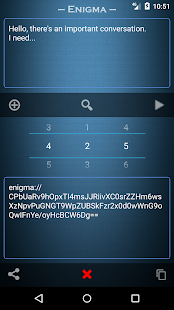 Enigma - encrypt text Screenshot