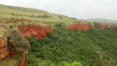 Photo: View of the Super Bowl, Left Wings and Theatre! Go check the climbs on these walls on this site http://www.thecrag.com/climbing/south-africa/the-restaurant-waterval-boven/area/16380853