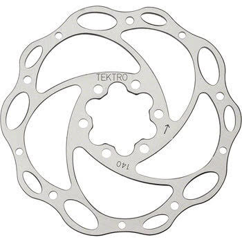 Tektro Lyra 140mm Lyra Cross Rotor w/Bolts