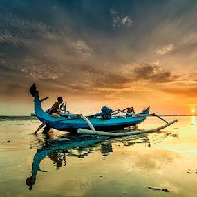 chasing the sun by Eko Sumartopo - Landscapes Sunsets & Sunrises