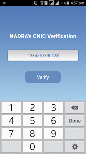 CNIC Verification 25 Apk Download - com fakhariqbal cnicv