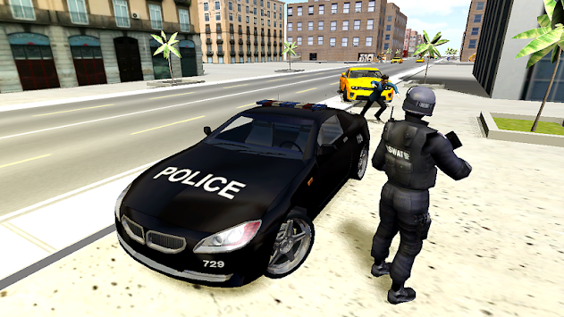 Police Car Driver 3D APK screenshot thumbnail 2