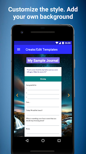CustomJournal - Flexible Structured Journal 1.39 androidtablet.us 2
