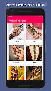Latest Mehndi Designs 2017 - náhled