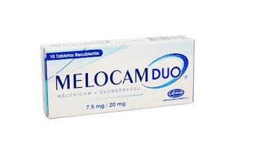 Melocam Duo 7.5/20Mg   Caja X10Tab. La Francol Meloxicam Esomeprazol