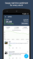 Screenshot of StockTwits - Stock Market Chat