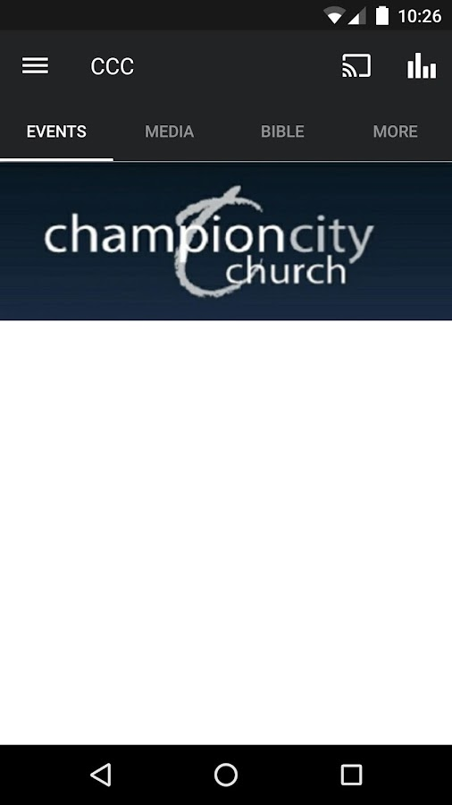 Champion City Church- screenshot