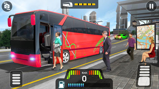 City Coach Bus Simulator 2020 - PvP Free Bus Games apkdebit screenshots 5
