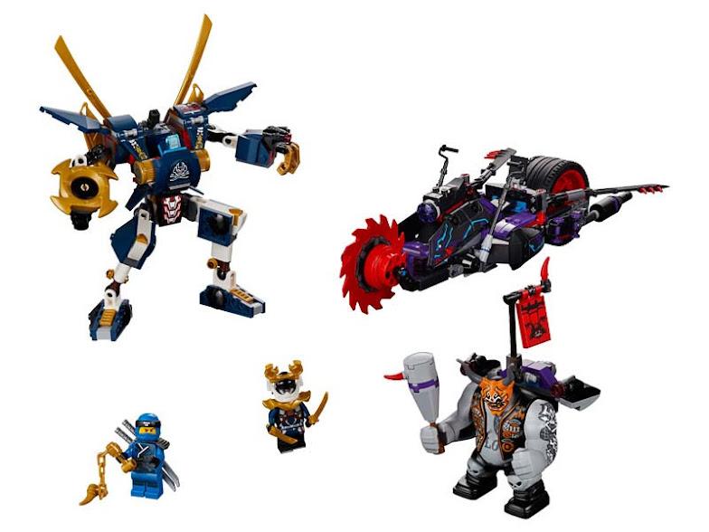 Contenido de Lego® 70642 Killow vs. Samurái X
