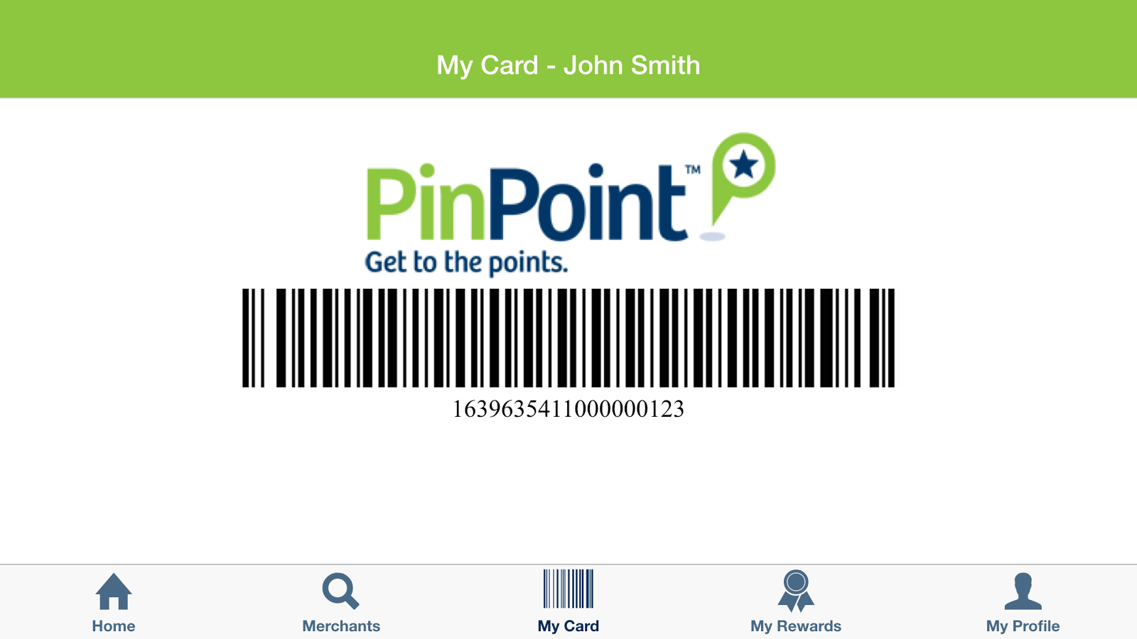 PinPoint Rewards- screenshot