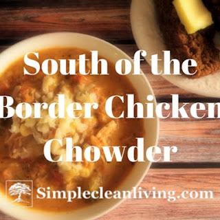 South of the Border Chicken Corn Chowder-Freezer