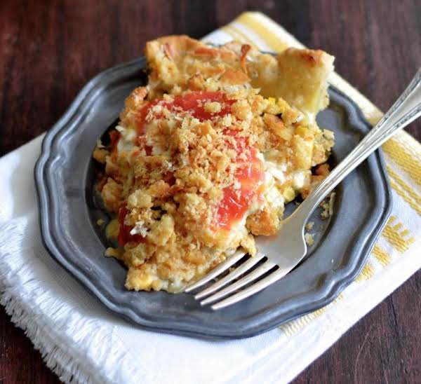 Tomato & Corn Pie W/ Buttermilk Black Pepper Crust Recipe