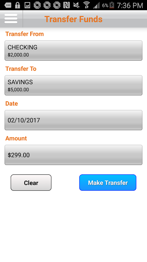 Mobank Mobile Banking- screenshot