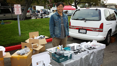 Photo: Frank Wang of DNJ Radio at 2014 ARRL Pacificon Convention