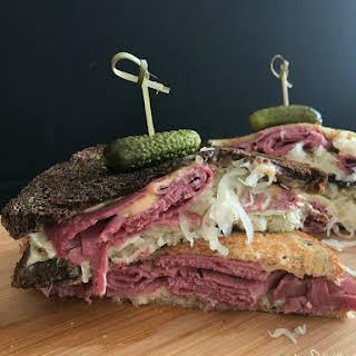 Reuben Sandwich Without Sauerkraut Recipes.