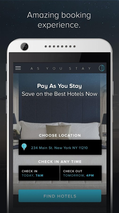 As You Stay - Anytime Booking- screenshot