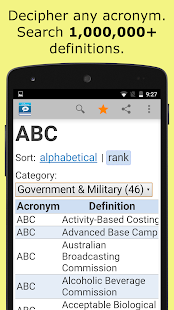 Acronyms and Abbreviations- screenshot thumbnail