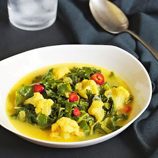 Collard Greens Curry