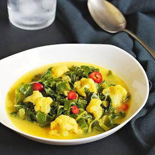 Collard Greens Curry.
