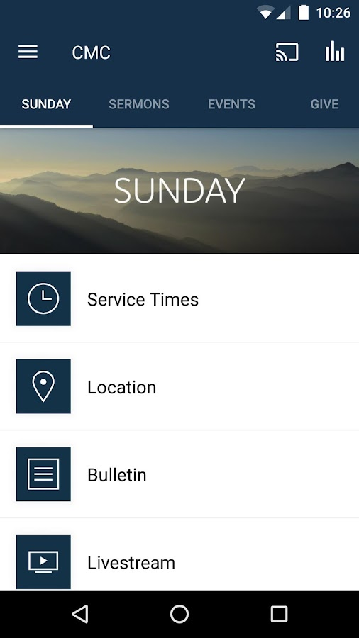 Calvary Memorial Church- screenshot